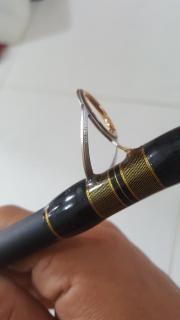WTS customs made overhead fishing rod with full set fuji