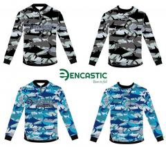 Encastic fishing jersey