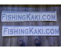 FishingKaki.com Stickers