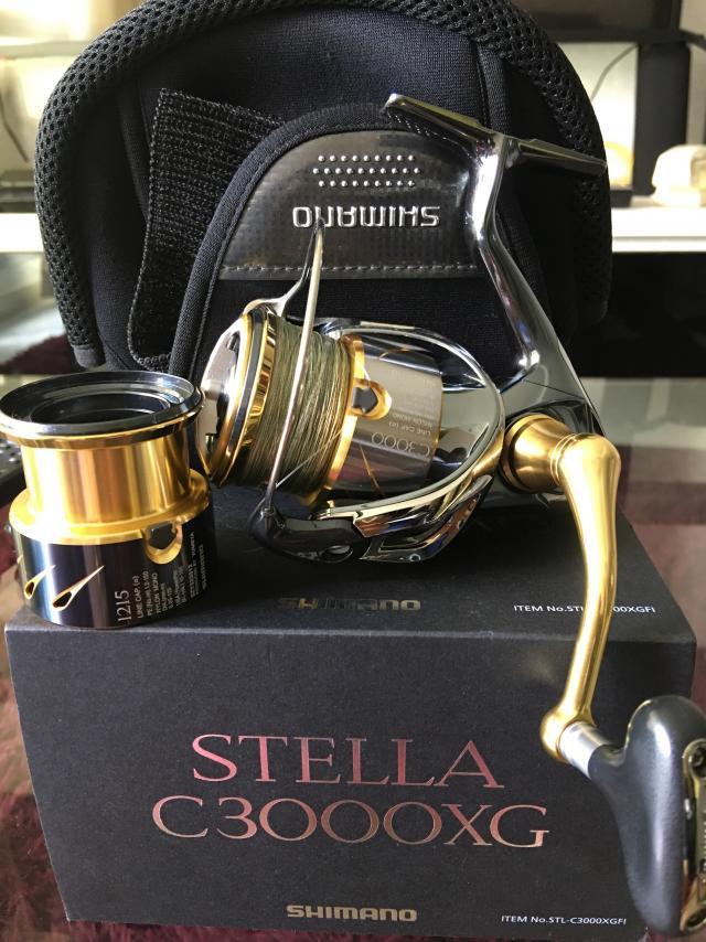 shimano stella C3000XG - FishingKaki com Classifieds