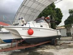 27FT Power Catamaran - Perfect for Fishing!