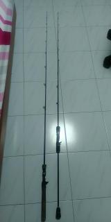 2 custom rod 1 slow jig 1 luring