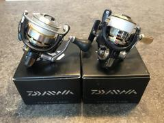 Daiwa Certate 3000 and 2506 ( made in Japan )