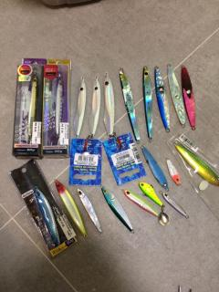 SOLD SoLD SoLD  20 pieces Jigs jigging various sizes