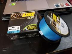 TUF LINE XP 20lb 1200yard Blue color