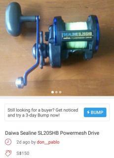 Daiwa Sealine SL20SHB Powermesh Drive