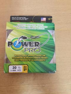 Power pro 30 lb