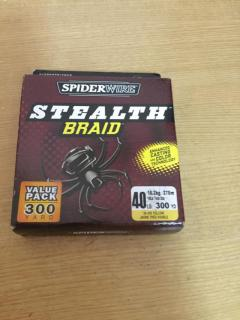 Spider wire 40 lb