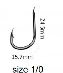 Japanese Fishing Hooks - Super Sharp Super Pointed!