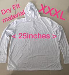 Brand New Dry fit long Sleeves with hood T-shirt.