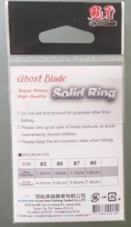 Ghost Blade Split and Solid Rings