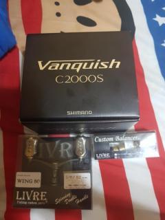 Vanquish C2000S with Livre Handle