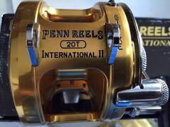 New un-use in box, Penn Int'l II, 20T, Tournament Reel (final Price reversed)