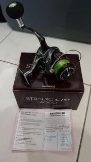 Giving up hobby.  Shimano stradic 4000 with rod and bag