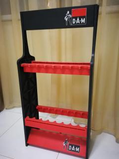 Rods Holder [D.A.M - Black & Red colour]