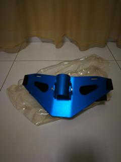 Aluminum Fish Fighting Belt / Gimbal - Blue colour