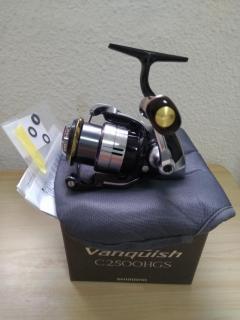 WTS 12 Vanquish C2500HGS mint (modded line roller plus premium wood knob)