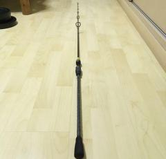 Custom MAJORCRAFT rod with FUJI parts
