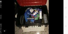 Tackle box. Give up fishing