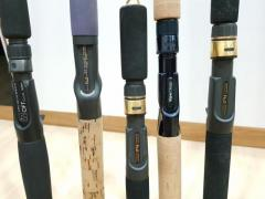 Clearing 5 oh luring rods for $200
