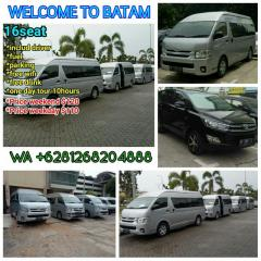 BATAM tourism and CAR service fast reapond whatspp +6281268204888