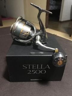 Shimano Stella 2500 with Yumeya Knob