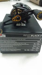 Used Abu Garcia Rove Black9  Consition in and out 9/10