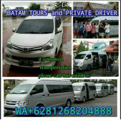 Batam tour and private driver