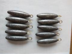 Sinker (65g to 71g) - Size 2.5J/3J - 65 pcs