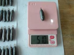 Sinker (50g to 52g) - Size 1.5J - 65 pcs