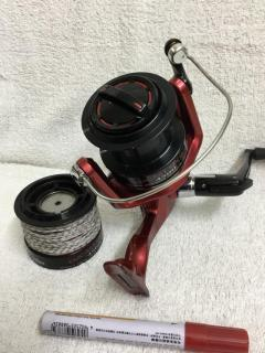 Daiwa Emcast Spory 4500 with spare spool, right hand