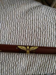 Fenwick Fibreglass rod baitcaster