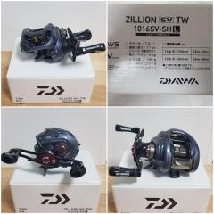 Used Daiwa Zillion and Graphiteleader Veloce Neo