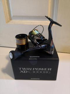 Shimano twinpower XD C3000hg with yumeya C3000S