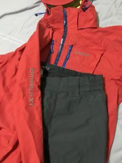 SHIMANO Dryshield XT Rainsuit, Size XL