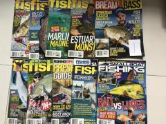 Various Fishing Magazines