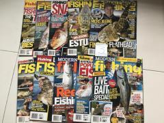 Various Fishing Magazines