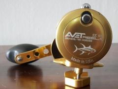 Avet 6/4 - Two speed Lever Drag Casting Reel (Right Hand)