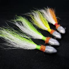 Custom Tied Bucktail Jigs Spro Style