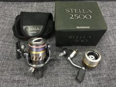 Stella 2500 with spare 2500s spool and SOM handle