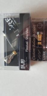 Livre custom handle and Livre balancer for Daiwa reels