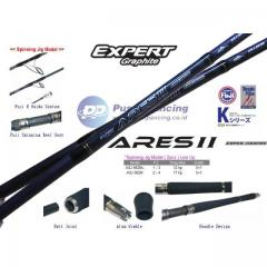 EXPERT GRAPHITE ARES II ASJ 562MH - PE3-5 SPINNING ROD