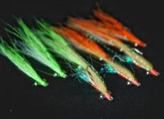 9pc Peacock Bass Essential Flies Set