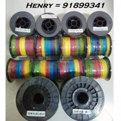 8 Strand 500m coloured Braided lines Promo 1roll = only SGD $40 , Highend Quality