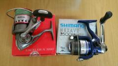 Daiwa Exceler-X 3000 & Shimano Nexave 2500FB