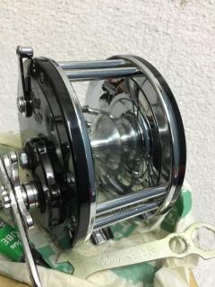 Unused/Pristine condition, Penn 149 Mariner, narrow spool reel