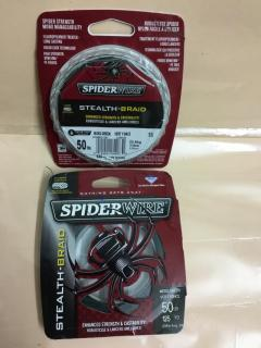 Spiderwire 50 lbs / 125 yards, make in USA, Moss green