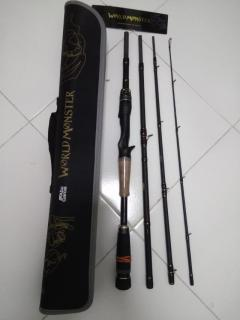 Used Abu World monster travel rod WMCC654