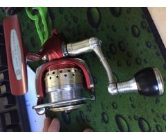 Daiwa Certate 2500 with Studio Ocean Mark Spool and Handle