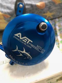 AVET, MXL 6/4, TWO SPEED (BLUE)